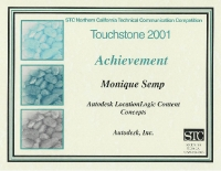 2001 – Achievement Award – Autodesk LocationLogicDeveloper's Guide