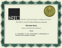 2003-2004 – Merit Award – Autodesk LocationLogic Java API Reference