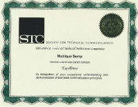 2003-2004 – Excellence Award – Autodesk LocationLogic Content Concepts