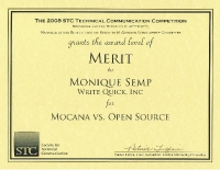 2008 – Merit Award – Mocana Vs. Open Source